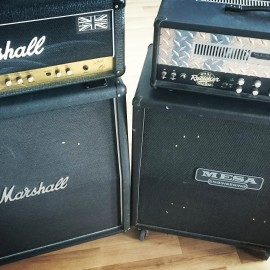Marshall MF400/Mesa Oversized [Cabinet Comparison]