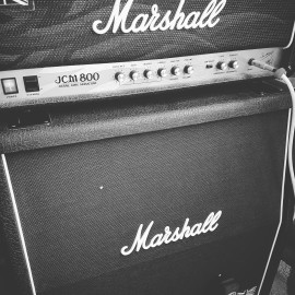 JCM800 2203KK & AXE FX II Britt800 [Marshall 1960AV 4 Speakers]